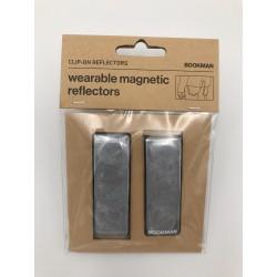 Réflecteurs magnétiques portables BOOKMAN blancs
