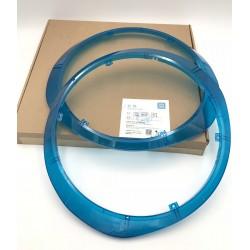 Paire de coques bleues pour gyroroue Ninebot One e+